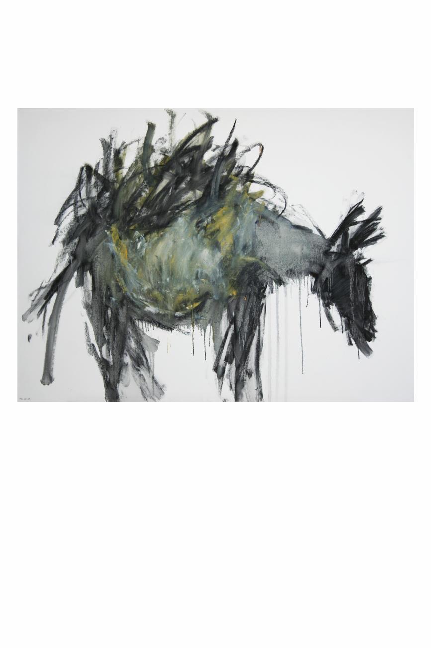 Huile sur toile, 130 x 97 cm, collection particulière