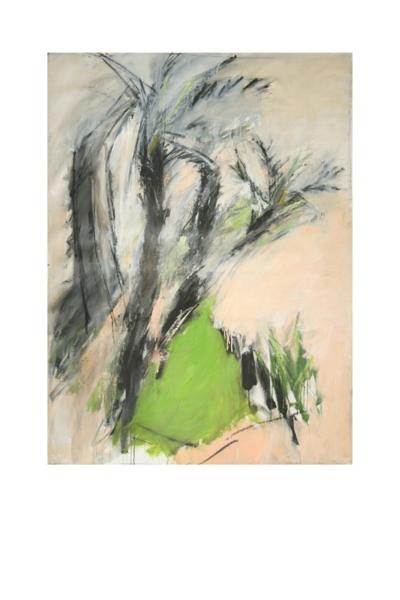 Huile sur toile, 200 x 100 cm