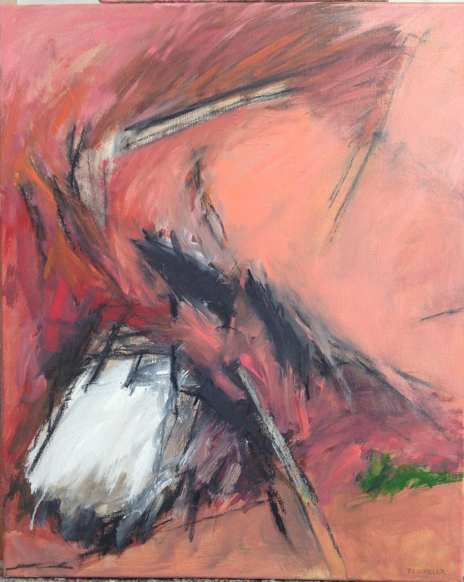 61 x 50 cm, huile sur toile